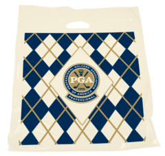 "16"" X 18"" X 3"" PATCH HANDLE PGA Argyle"