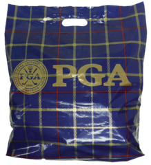 "16"" X 18"" X 3"" PATCH HANDLE PGA Tartan Blue"