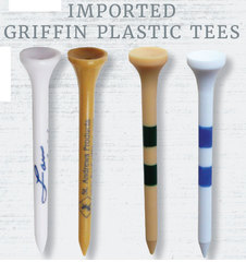 Imported Griffin Plastic Tees - Traditional Round Cup